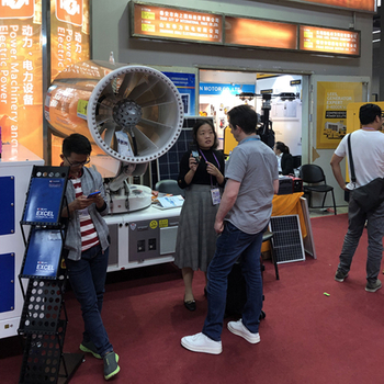 TDM spray cannon wonderfully appearing at the 126th Canton Fair
